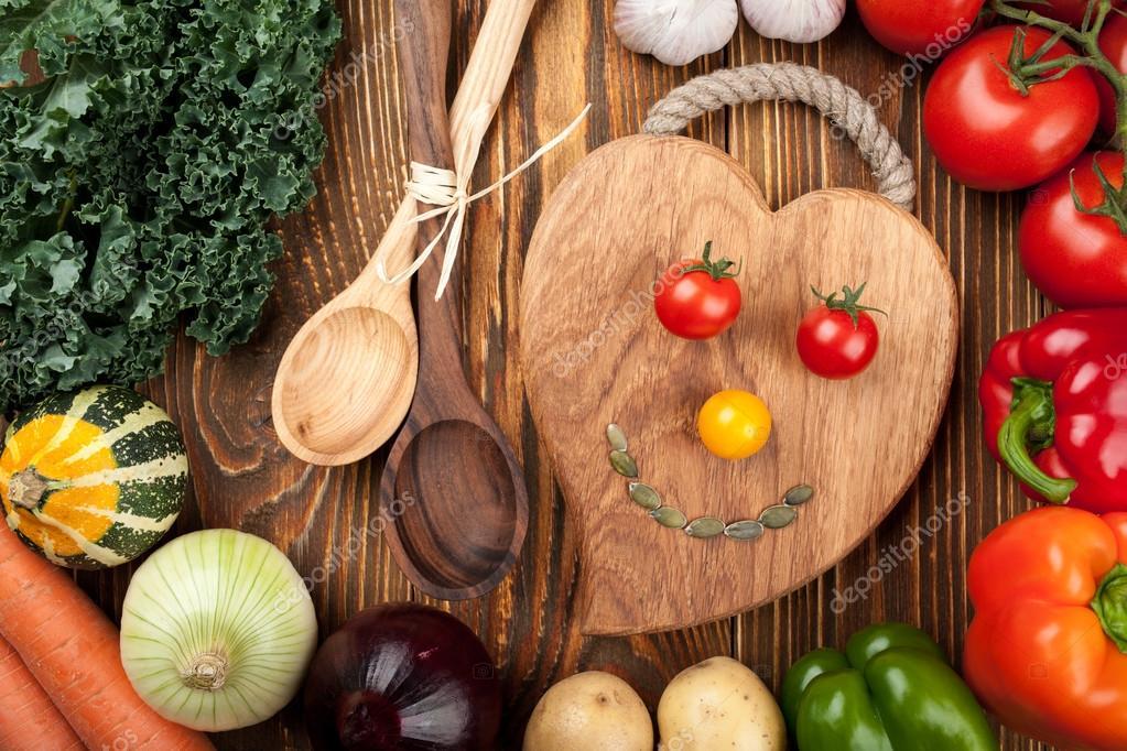 Concepto de cocina sana — Fotos de Stock © ffphoto #84514640