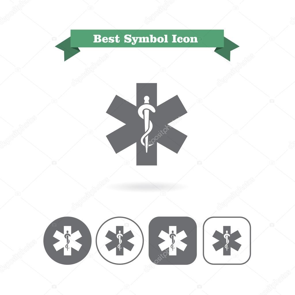 Medical Emergency Symbol Icons Stock Vector Redinevector 74163535