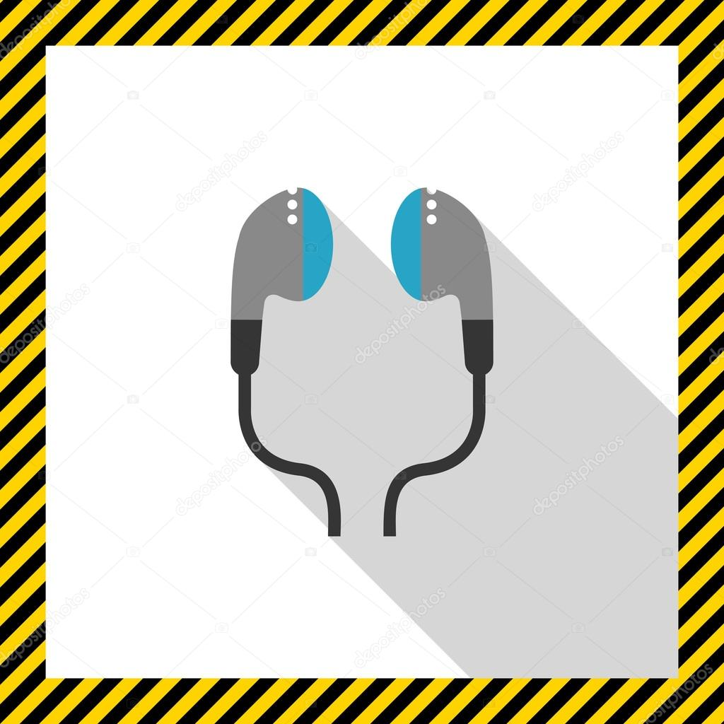 in-Ear Kopfhörer — Stockvektor © RedineVector #78273616