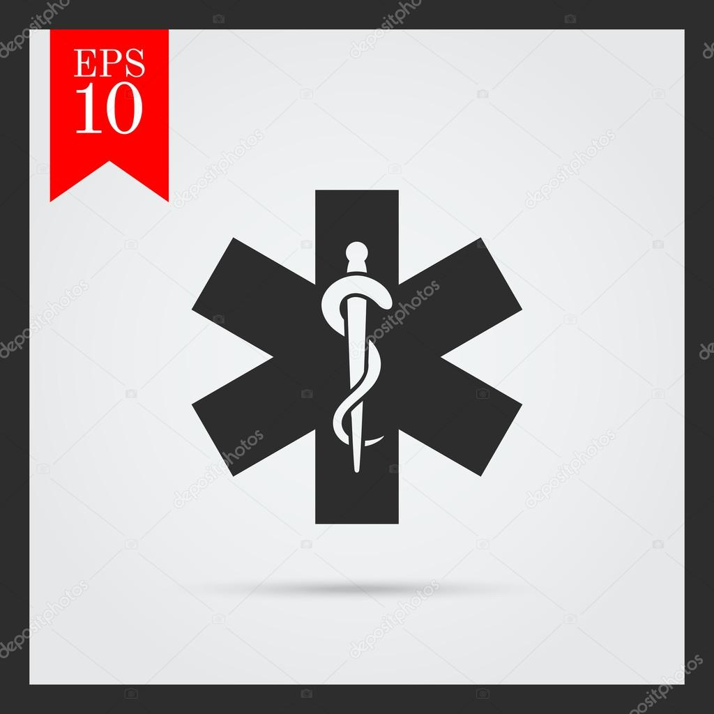Medical Emergency Symbol Icons Stock Vector Redinevector 78987534