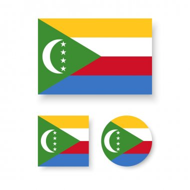 Flag of the Union of the Comoros