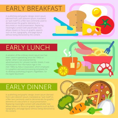 Early meals