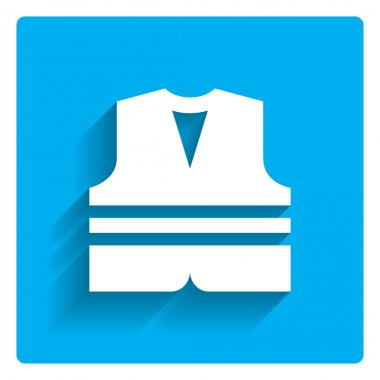 Safety vest icon stock vector