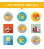 Sada univerzální ikon 1