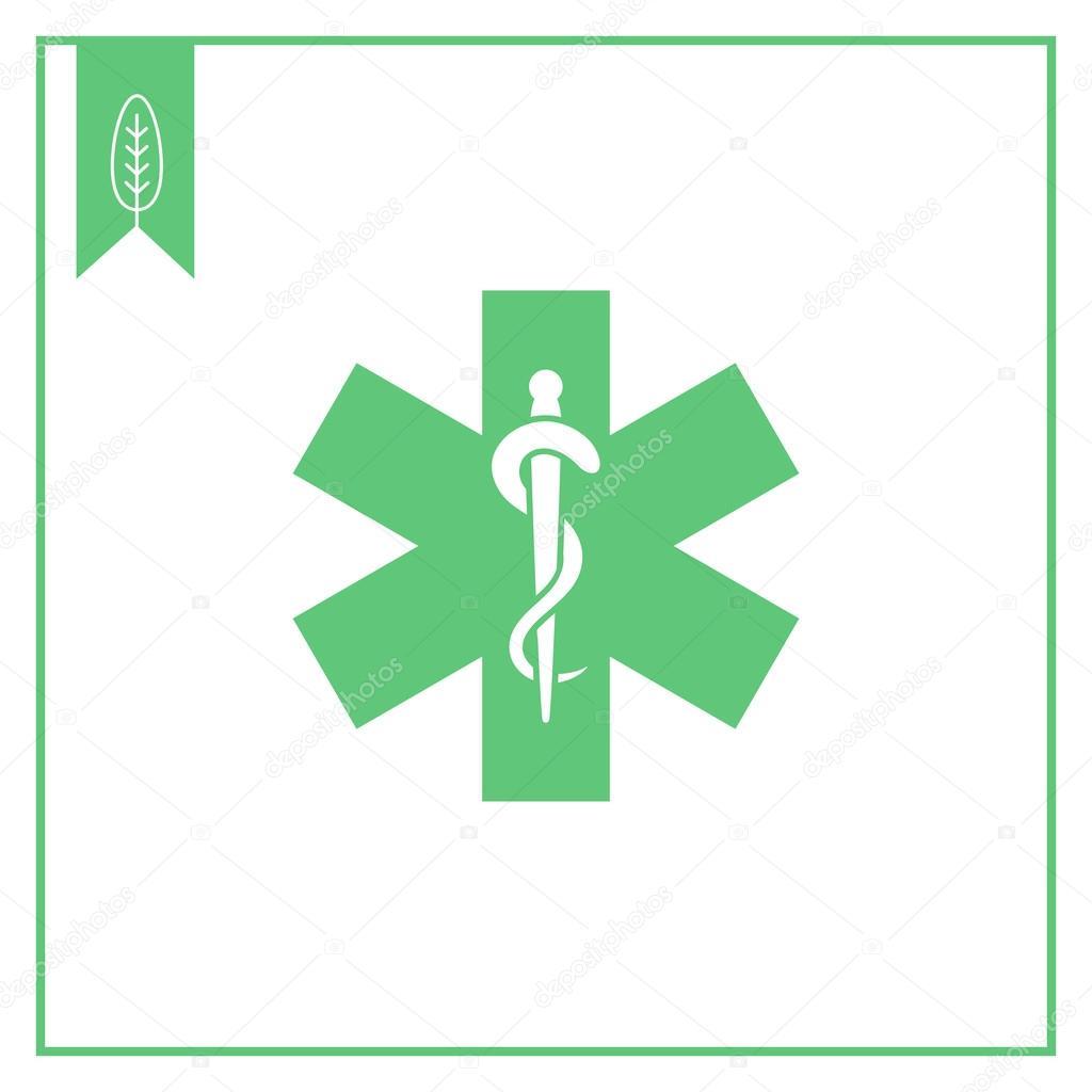 Medical Emergency Symbol Stock Vector Redinevector 84809018