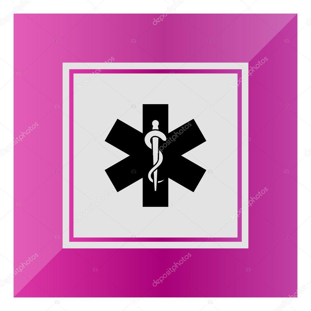 Medical Emergency Symbol Stock Vector Redinevector 84946866