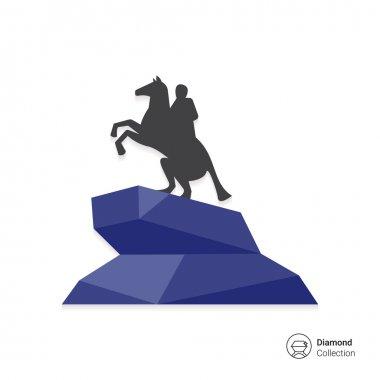 Bronze Horseman statue