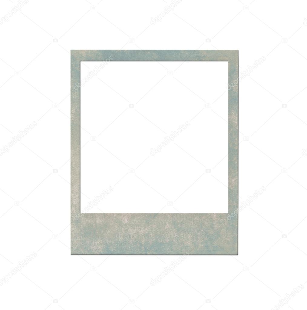 Sofortbild-Rahmen isoliert auf weiss — Stockfoto © FINDEEP #118131200