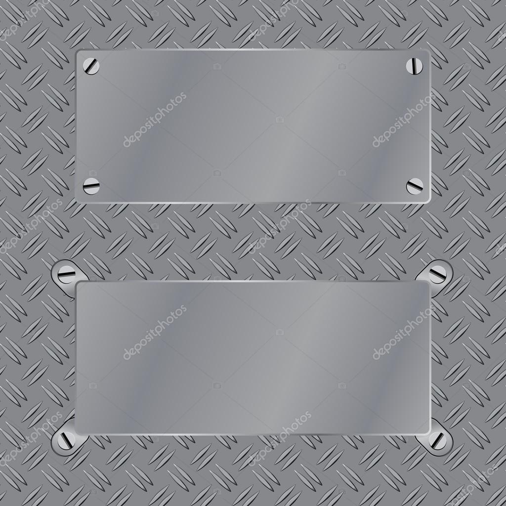 Marco de acero en pisos metal textura patrón desnudos — Vector de ...