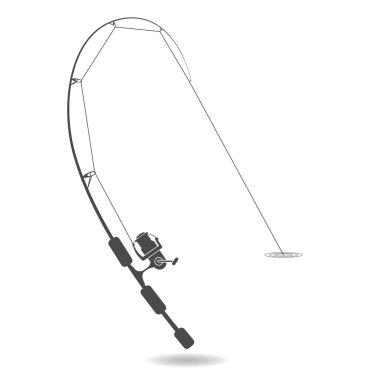 silhouette ultralight spinning rod, fishing sport