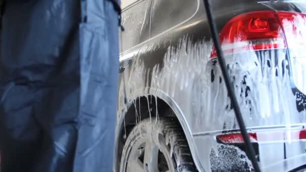 autowasherman práce - myčky aut v boxu