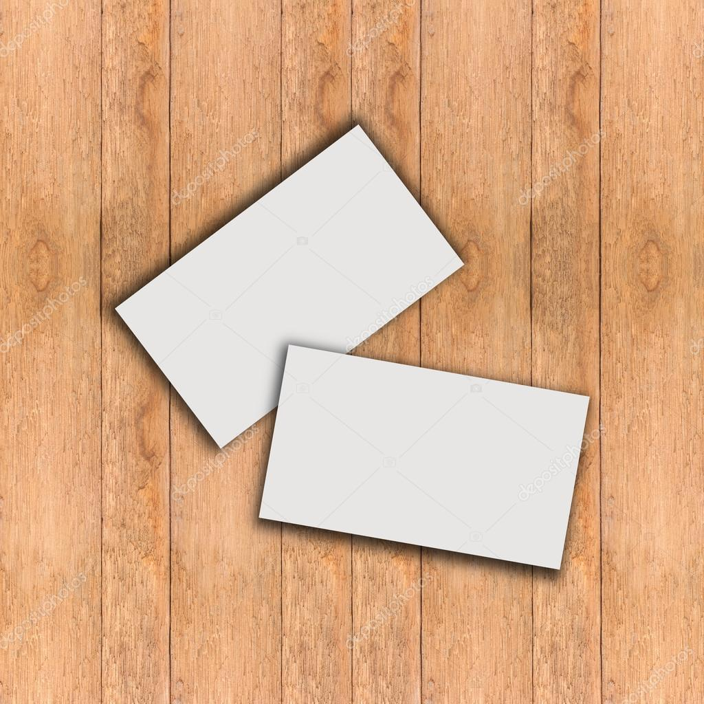 business card blank with wood stock photo jimbophoto 120156620