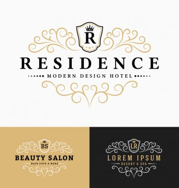 Luxurious Royal Logo Vector Re-sizable Design