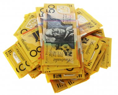 Australian money banknotes