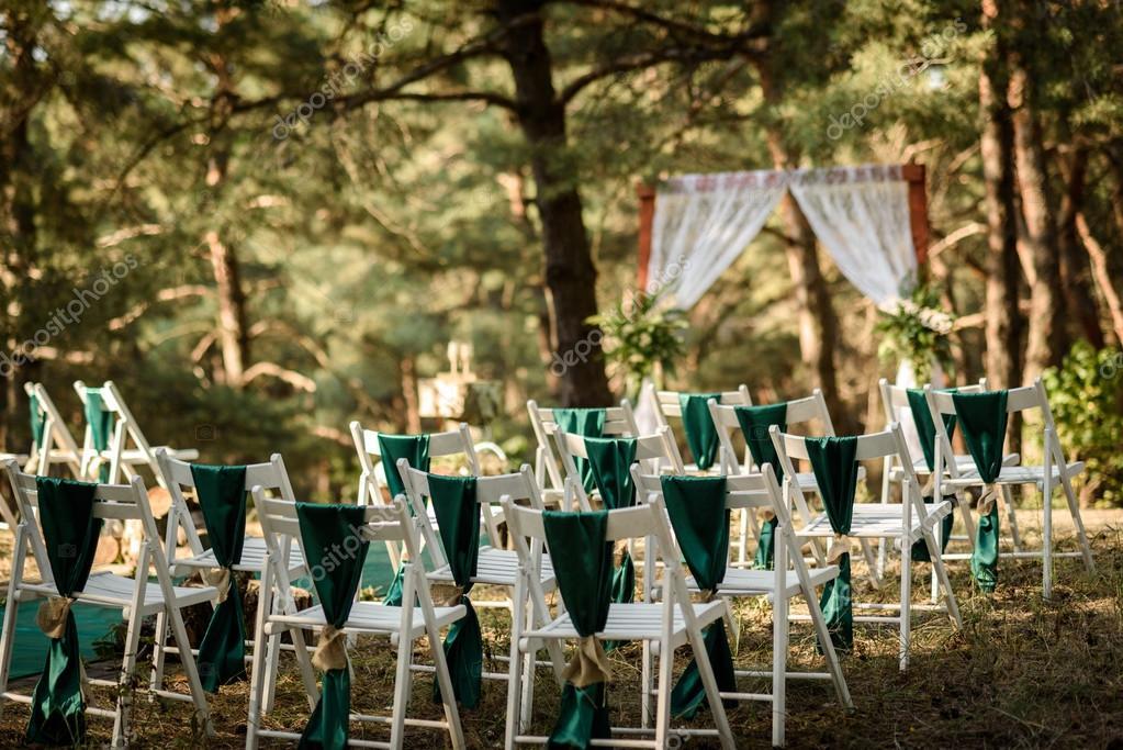 Hochzeit Im Wald Stockfoto C Andreua 94682258