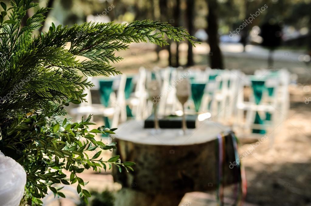 Hochzeit Im Wald Stockfoto C Andreua 94684788