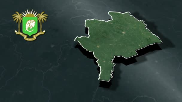 Regions of Ivory Coast
