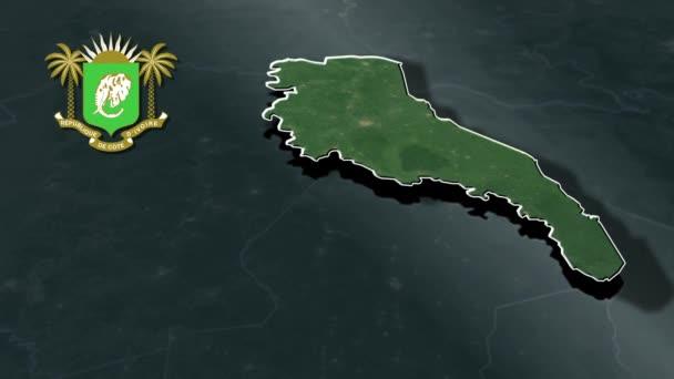 Regiony Pobřeží slonoviny