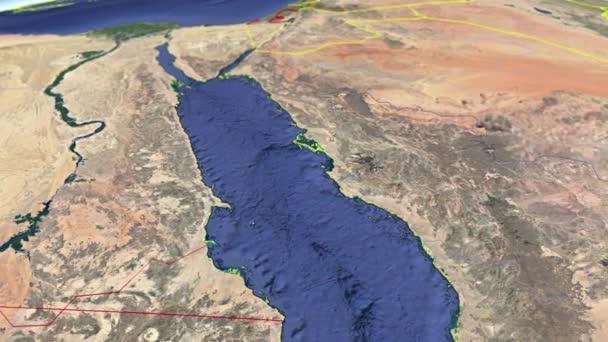 Regions of Saudi Arabia geographic map