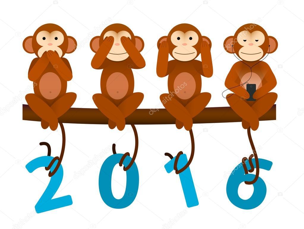способов украшения открытка с тремя обезьянами бескаркасный ангар или