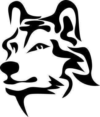 head of wolf