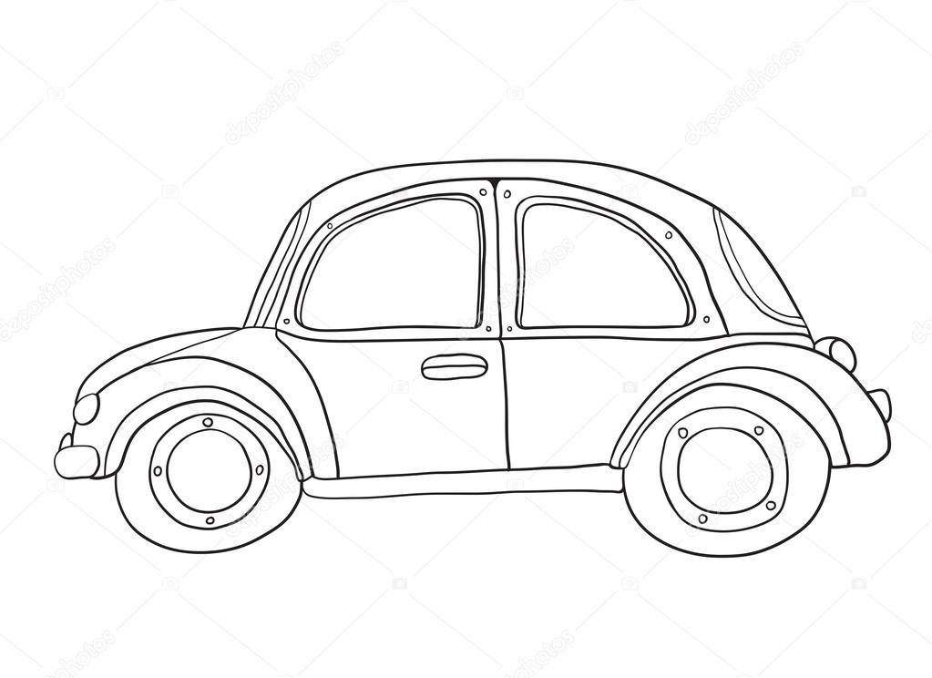 Coloring Book Car Stock Vector Katbuslaeva 106052974