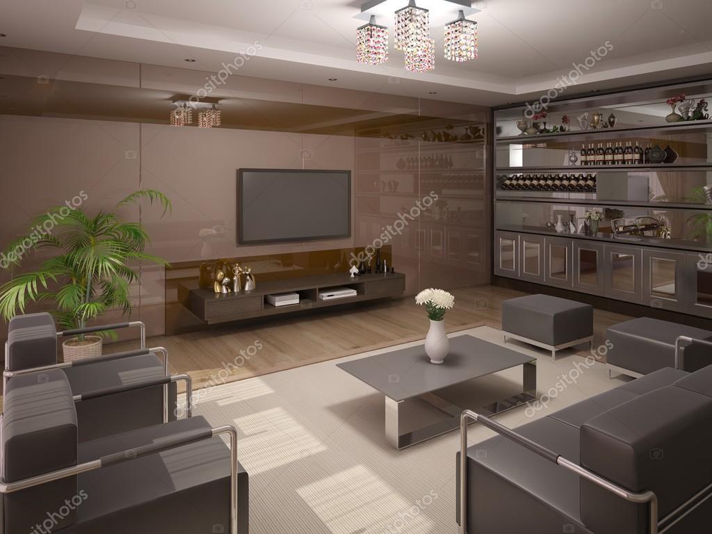 Salotto Moderno Elegante : Elegante salotto moderno u foto stock wodoplyasov