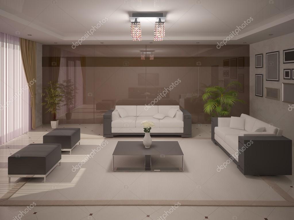 Salotto Moderno Elegante : Elegante salotto moderno u2014 foto stock © wodoplyasov #117102264