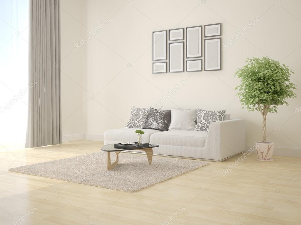 Salotto Moderno Elegante : Elegante salotto moderno u2014 foto stock © wodoplyasov #124018908