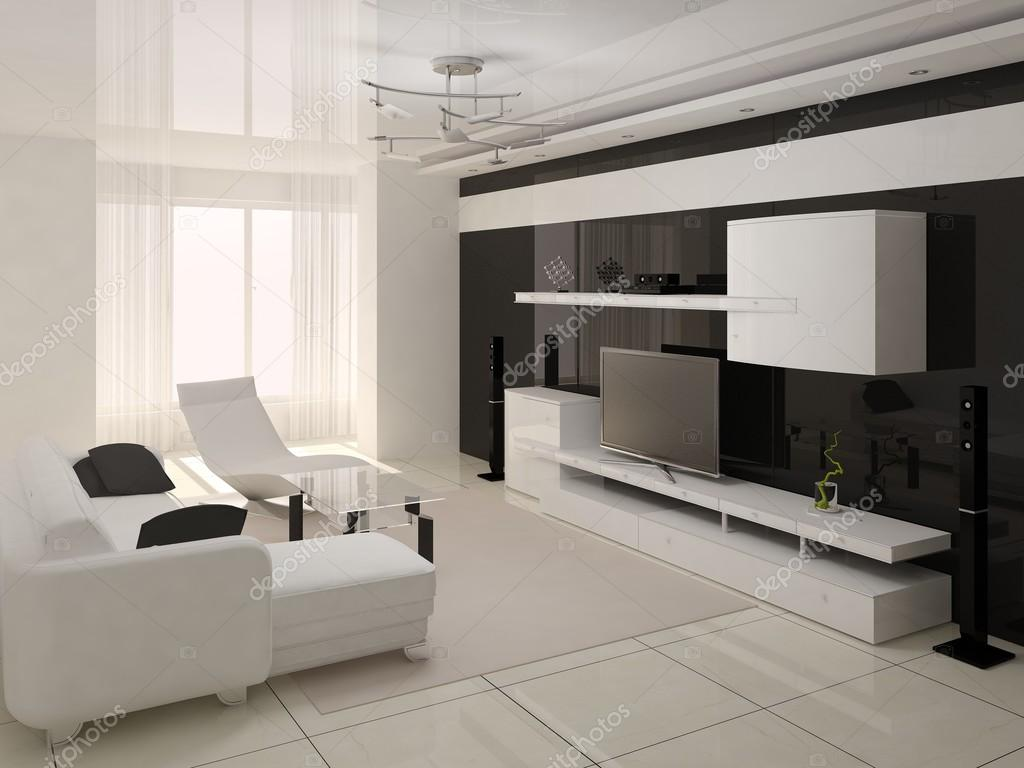 high tech living room salone moderno hi tech interer foto stock 94883818 15681