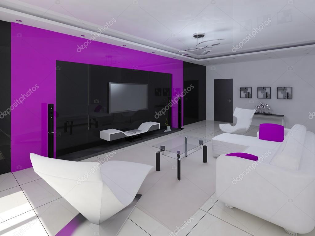 Salotto Hi Tech.Design Hi Tech Del Salotto Foto Stock C Wodoplyasov 97565400
