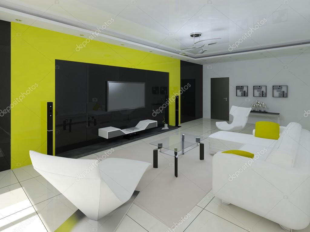 Das Perfekte Wohnzimmer Stockfoto Wodoplyasov 97654474
