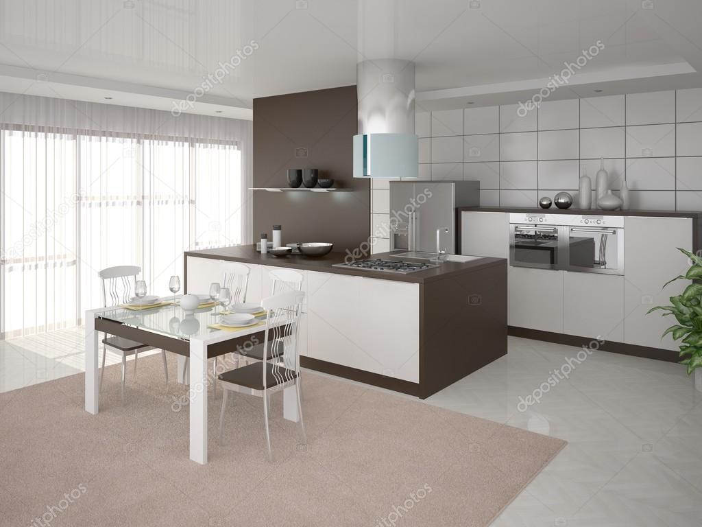 De Perfecte Keuken : Het ontwerp van de perfecte keuken u stockfoto wodoplyasov