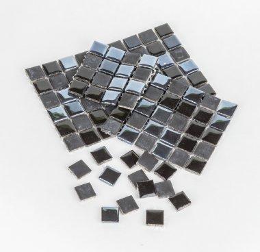Pieces of mosaic tile