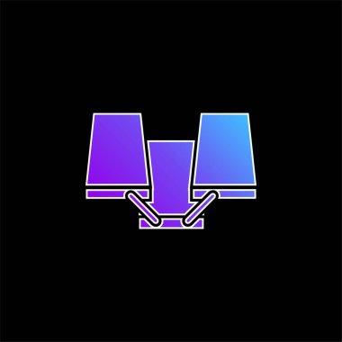 Art Tool blue gradient vector icon stock vector