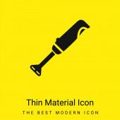 Šlehač minimální jasně žlutý materiál ikona