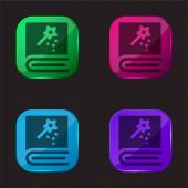 Zarezervovat ikonu tlačítka čtyři barvy