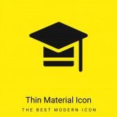 Legénybúcsúk Minimális világos sárga anyag ikon