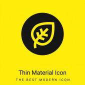 Biológiai minimális világossárga anyag ikon