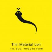 Állat minimális fényes sárga anyag ikon
