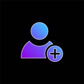 Přidat ikonu modrého přechodu uživatele