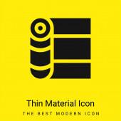 Obvaz minimální jasně žlutý materiál ikona