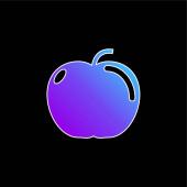 Ikona Apple blue gradient