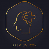 Logo nebo ikona prémiové linie Mozkové varhany
