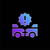 Ikona náhodného modrého přechodu
