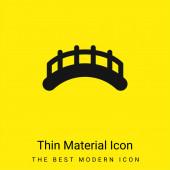 Brücken minimales hellgelbes Materialsymbol