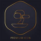 Bonsai Tree prémiové logo nebo ikona