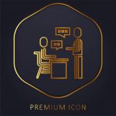Zuordnung Golden Line Premium-Logo oder -Symbol