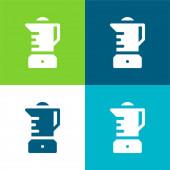 Směšovač Byt čtyři barvy minimální ikona nastavena