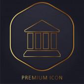 Bankovní prémiové logo nebo ikona